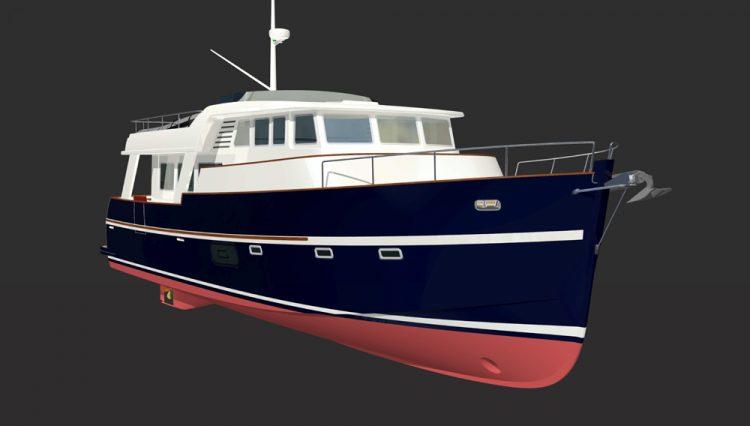 Rhéa 57 Trawler