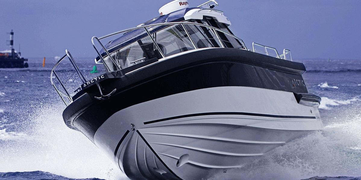 Arctic 25 commuter en navigation